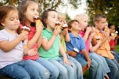 Sertoma_Ice_Cream_Festival_Utica_Ohio_Kids_Eating_Ice_Cream