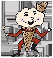 Sertoma Ice Cream Festival Utica Ohio Logo